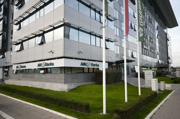 AIK banka, 13.000 m², tehničko održavanje, centrala, 57 poslovnice