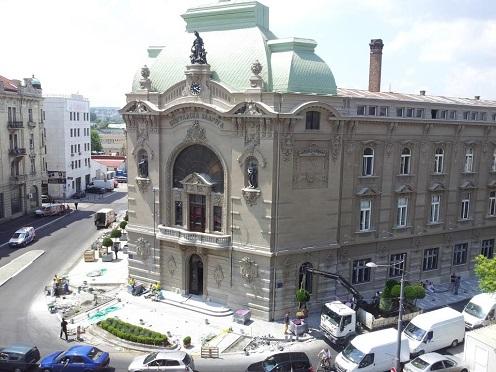 Eagle Hils (Beograd na vodi), 6.000 m², tehničko održavanje, Zgrada geodetskog zavoda – Sales Center