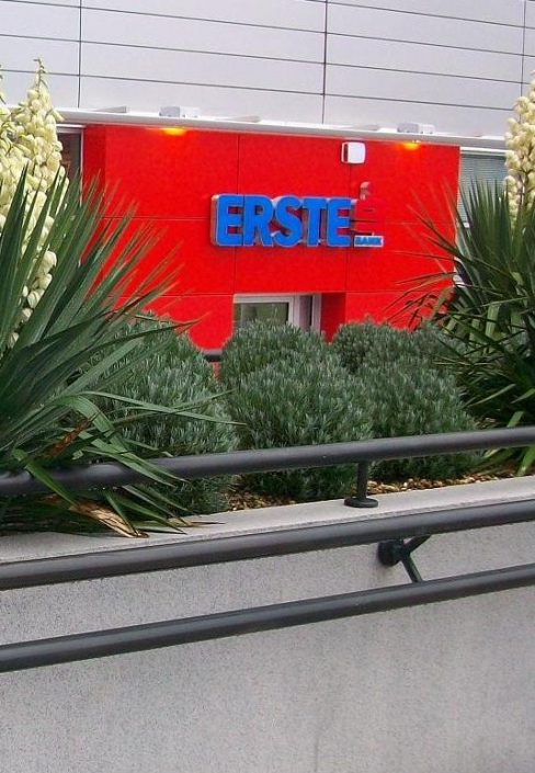 Erste Bank, 20,000 m², Technical maintenance, Head office + 70 branches