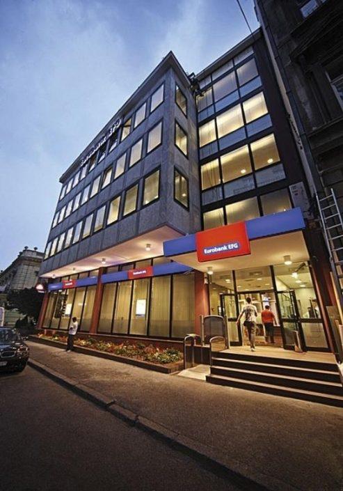 Eurobank, 20.000 m², tehničko održavanje, centrala, 103 poslovnice