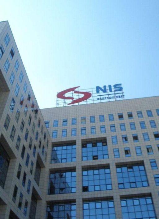 NIS Gazprom Neft, 78.000 m², tehničko održavanje, upravne zgrade u Beogradu i Novom Sadu