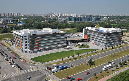 GTC Square, 22.000 m², Facility Management, Poslovna zgrada