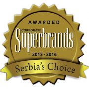 Superbrands Serbia's Choice 2015-2016